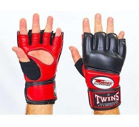 Перчатки для ММА Twins GGL-4-RD красные
