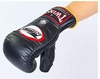Распродажа*! Перчатки снарядные кожаные Twins TBGL-1F-BK черные - XL - Фото №5