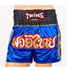 Трусы для тайского бокса Twins NTBS-007 синие - Фото №2