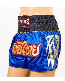 Трусы для тайского бокса Twins NTBS-007 синие - Фото №3