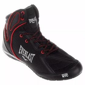 Боксерки мужские Everlast Strike ELM124B черно-красные
