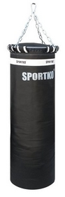 Мешок боксерский Sportko Профи (ременная кожа) 110х35 см