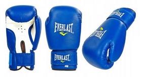 Перчатки боксерские Everlast Юниор, синие (MA-0033-B)