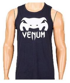 Футболка мужская без рукавов Venum CO-5859-BK черная