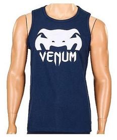 Футболка мужская без рукавов Venum CO-5859-BL синяя