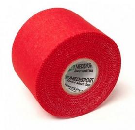 Тейп спортивный Medisport красный, 5 см x 10 м