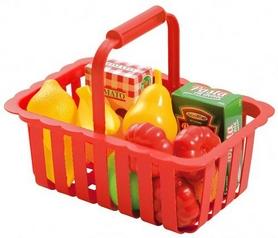 """Набор игровой Ecoiffier """"Корзина для супермаркета с продуктами"""""""