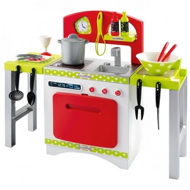 """Набор игровой Ecoiffier """"Кухня Chef-Cook с раскладными столешницами, посудой и аксессуарами"""""""