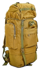 Рюкзак тактический Tactic TY-065-H хаки 65 л