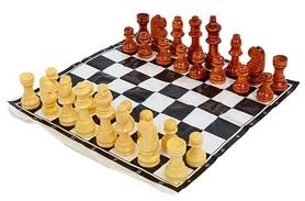 Фигуры для шахмат и игровое полотно Duke IG-3103 Wood-Shahm