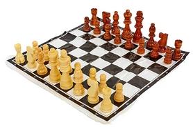 Фигуры для шахмат и игровое полотно Duke IG-4930