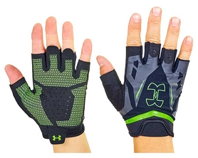 Перчатки для кроссфита Under Armour WorkOut BC-6305-G зеленые