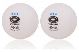 Мячи для настольного тенниса Yinhe 3*** 40+, 6 шт