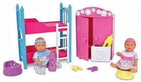 """Набор кукол Simba Toys """"Два пупса и спальная комната"""" 503 6610"""