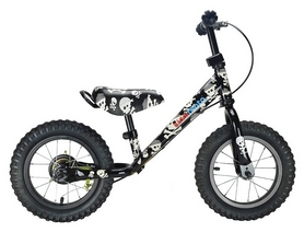 Беговел Kiddimoto Super Junior Max Super Skullz 12""