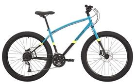 "Велосипед горный Pride Rocksteady 7.2 27,5"", 2018, рама - L, голубой"