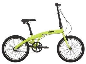 "Велосипед городской Pride Mini 3 20"" 2018, лайм"