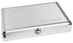 butterfly Кейс для ракетки Butterfly, серебрянный Butt-case-slv