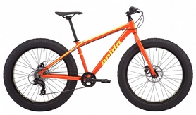 "Велосипед фэтбайк Pride Donut 6.1 2018 - 26"", рама - 17, оранжевый (SKD-56-51)"