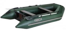 Лодка надувная моторная Kolibri КМ-260+ (слань-книжка)