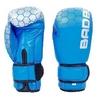 Перчатки боксерские кожаные Bad Boy, синие - фото 1