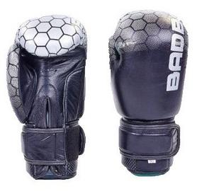 Перчатки боксерские кожаные Bad Boy, черные