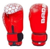 Перчатки боксерские кожаные Bad Boy, красные - фото 1