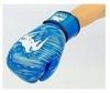 Перчатки боксерские кожаные Venum, синие - фото 3