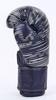 Перчатки боксерские кожаные Venum, черные - фото 2