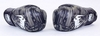 Перчатки боксерские кожаные Venum, черные - фото 4
