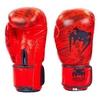 Перчатки боксерские кожаные Venum, красные - фото 1