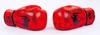 Перчатки боксерские кожаные Venum, красные - фото 4