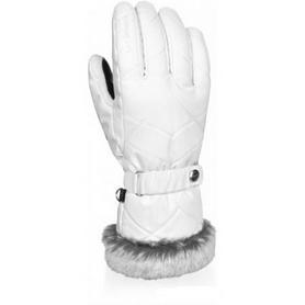 Распродажа*! Перчатки горнолыжные Reusch Marle white - 7