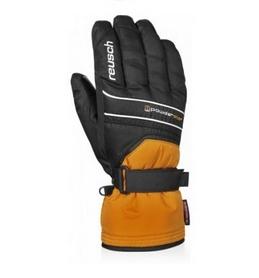 Распродажа*! Перчатки горнолыжные мужские Reusch Powderstar R-texxt orng. popcicle/blасk - 10,5