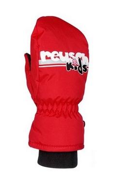 Распродажа*! Перчатки горнолыжные детские Reusch Kids Mitten красные - I