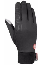 Распродажа*! Перчатки горнолыжные Reusch Hike & Ride Windstopper черные - 7,5