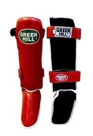 Распродажа*! Защита для ног (голень+стопа) Green Hill Classic (красная) - XL