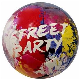 Мяч футбольный Alvic Street Party №5 бело-красный Al-Wi-SP-BY-5
