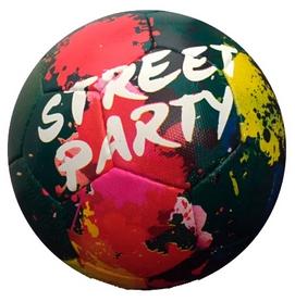 Мяч футбольный Alvic Street Party № 5 черно-красный Al-Wi-SP-BR-5
