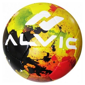 Мяч футбольный Alvic Street Party № 5 желто-зеленый Al-Wi-SP-YG-5