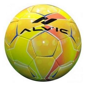 Мяч футбольный Alvic Diamond № 4 желто-зеленый