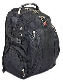 Рюкзак городской Victorinox SwissGear 7620-BK, 30 л, черный