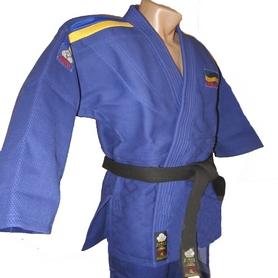 Распродажа*! Кимоно для дзюдо Firuz Master синее - 170 см