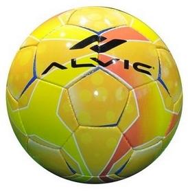 Мяч футбольный Alvic Diamond №4 желто-красный