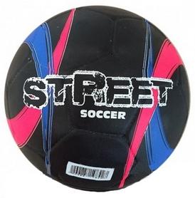 Мяч футбольный Alvic Street №5 розово-синий