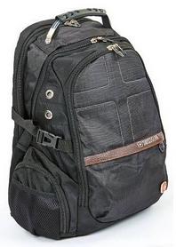 Рюкзак городской Victorinox SwissGear 9370-BK, 20 л, черный