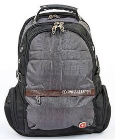 Рюкзак городской Victorinox SwissGear 9370-GK, 20 л, серый