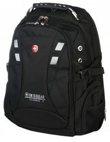 Рюкзак городской Victorinox SwissGear 9371-BK, 30 л, черный