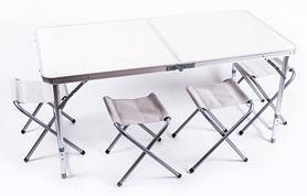 Стол раскладной + 4 стула X-904