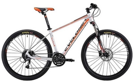 """Велосипед горный Cyclone LLX-650b 2018 - 27,5"""", рама - 17"""", оранжевый"""
